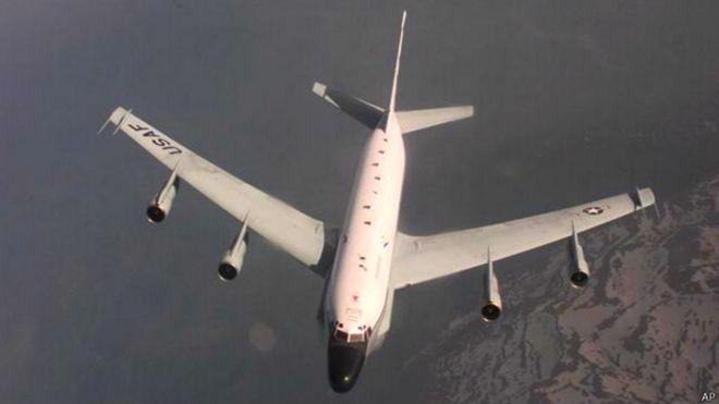 Американский самолет-разведчик