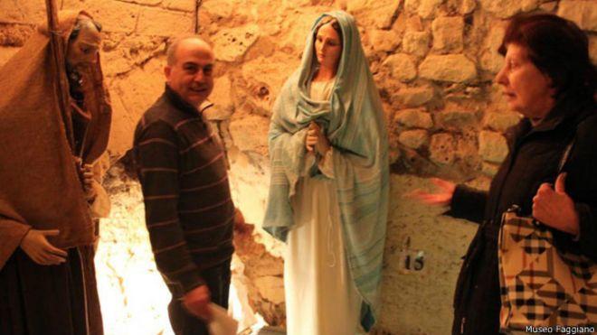 La familia italiana que encontr� un tesoro arqueol�gico mientras arreglaba un ba�o