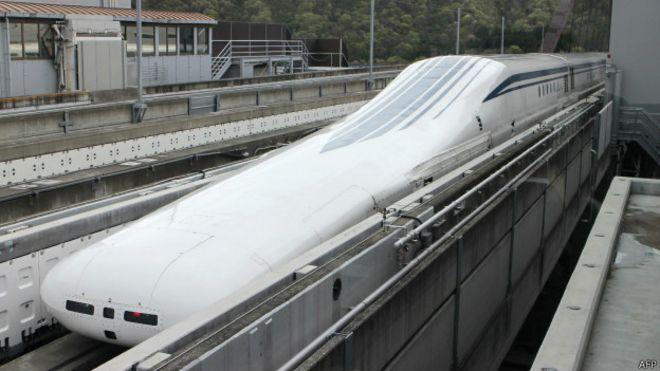 Самый скоростной поезд в мире! - YouTube
