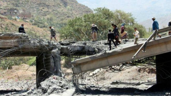 التحالف بقيادة السعودية ينهي غاراته الجوية ضد  اليمن