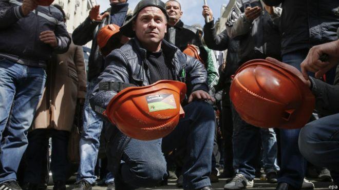 Шахтарі Львівщини розпочинають страйк