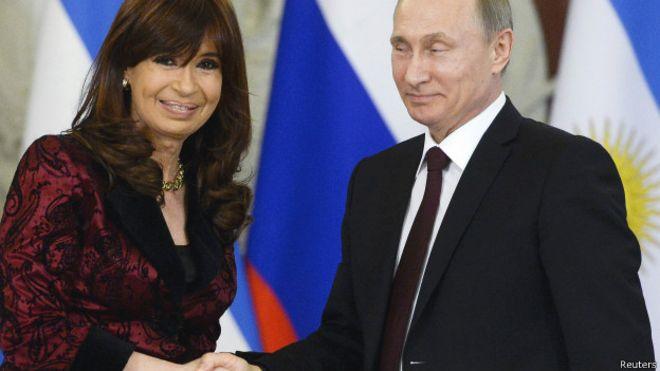 Rusia financiará reactor nuclear en Argentina