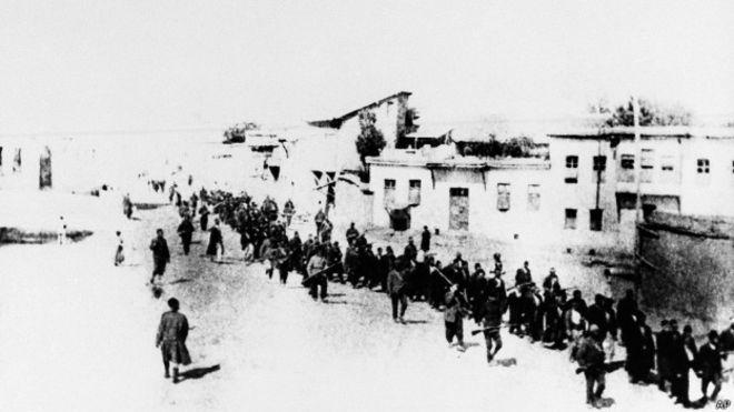 Almanya'nın 1915 olaylarındaki rolü ne?