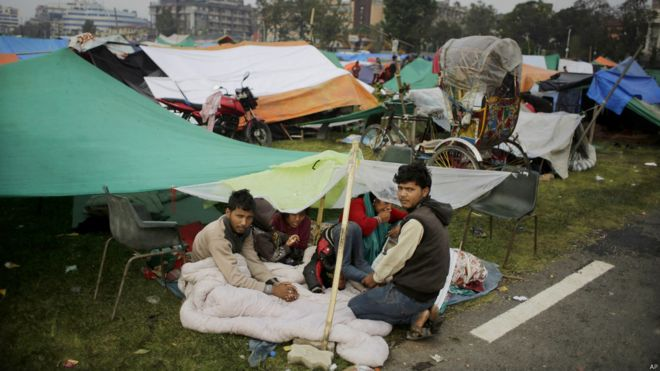尼泊爾地震:聯合國評估800萬人受災