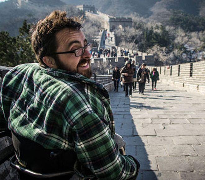 坐輪椅遊中國之囧
