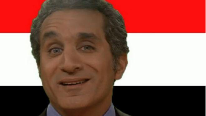 باسم يوسف في حديث عن الثورات والأبطال الخارقين والجواسيس 150503155445_bassem_youssef__640x360_bbc_nocredit
