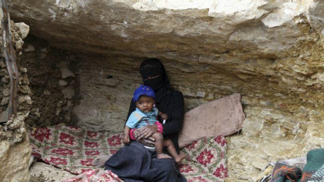 الحوثيون يقبلون الهدنة وانتقادات أممية للقصف الذي يطال المدنيين باليمن 150509233520_yemen_sada_640x360_reuters