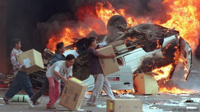 Di mana Anda ketika kerusuhan Mei 1998?