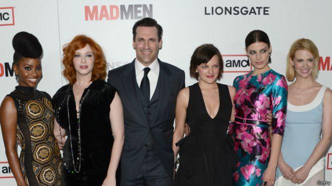 El elenco de Mad Men