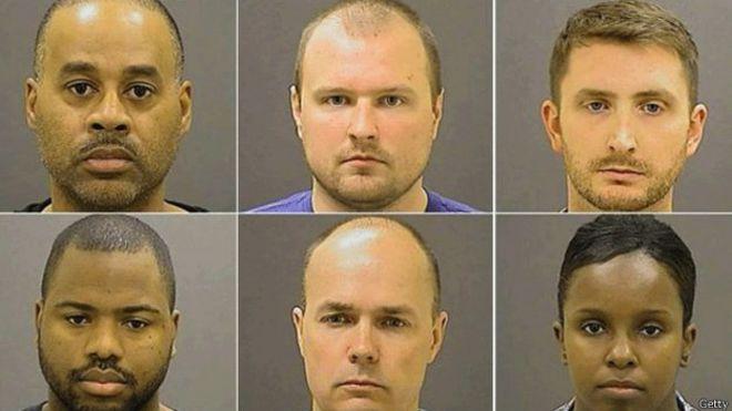 EE.UU.: gran jurado decide procesar a policías de Baltimore por muerte de joven negro