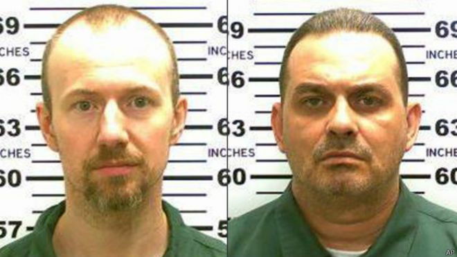 David Sweat y Richard Matt