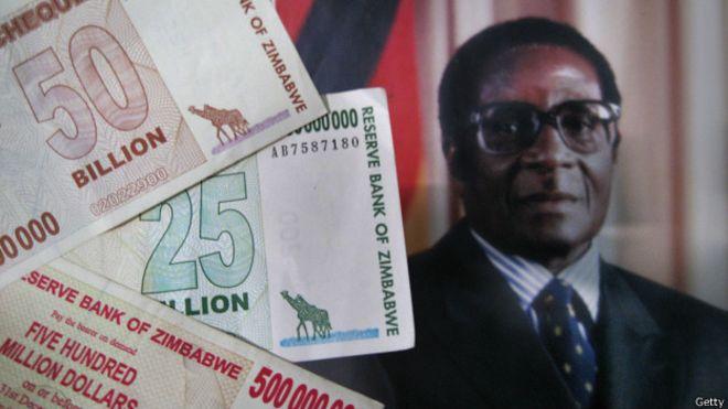 Billetes de Zimbabue