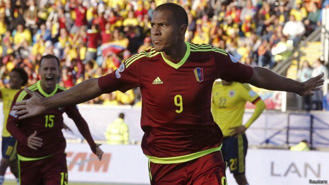 fútbol, copa america, chile, partido, colombia, venezuela, resultado