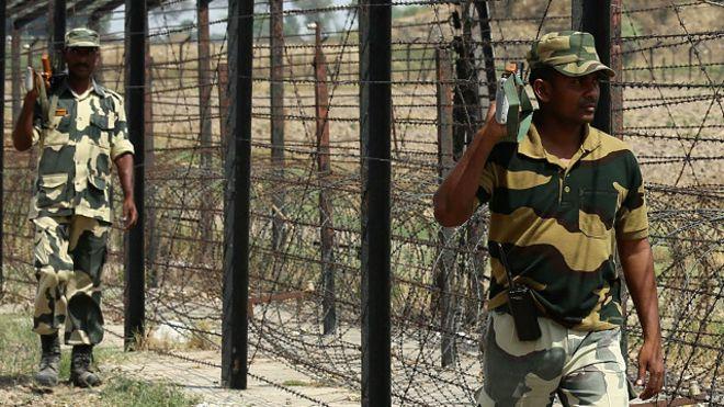 پاکستانسے متصل انڈین سرحد پر لیزر باڑ نصب