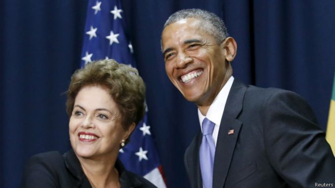 Dilma visita EUA para restaurar confiança e impulsionar economia