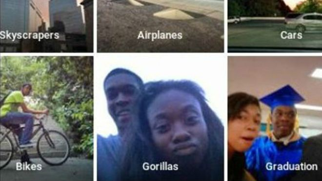 Google pide perdón por confundir a pareja negra con gorilas