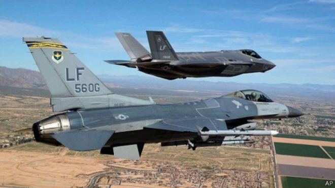 「F35不敵F16」 五角大樓辯解忙