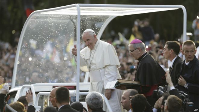 Papa Francisco no Paraguai | Foto: AFP