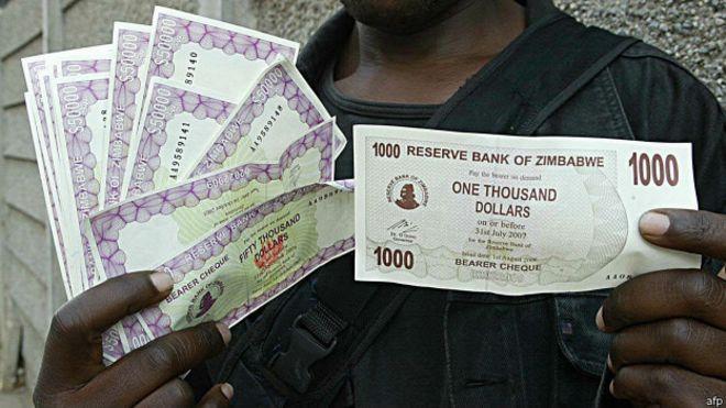 Moneda de Zimbabue