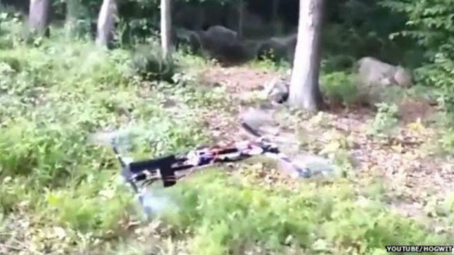 El dron con pistola incorporada que desat� las alarmas en Estados Unidos