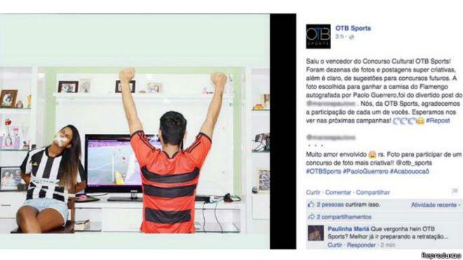 76984bbcc3  SalaSocial Concurso elege foto de mulher amordaçada e revolta internautas