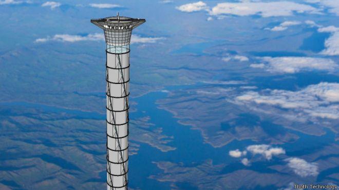ascensor al espacio