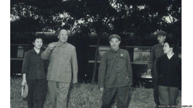 汪东兴曾经在已故中共领导人毛泽东身边工作了30年 ...