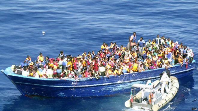 Rescate de migrantes, Italia