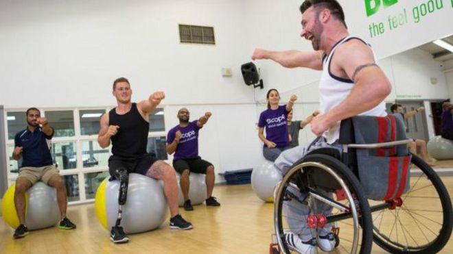 Las dificultades de estar en forma cuando tienes una discapacidad
