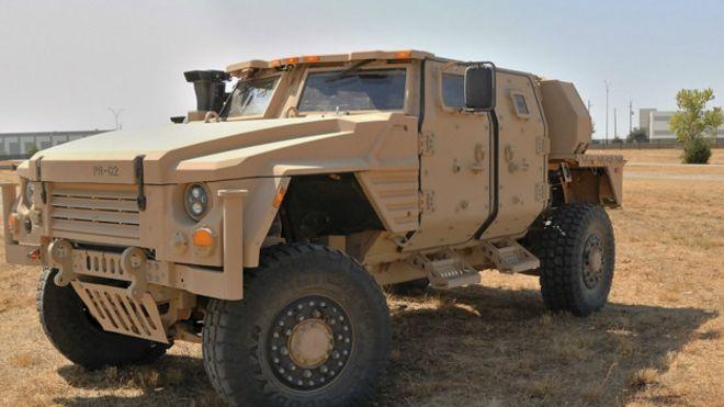 Llega el JLTV, el veh�culo militar que reemplazar� al poderoso Humvee