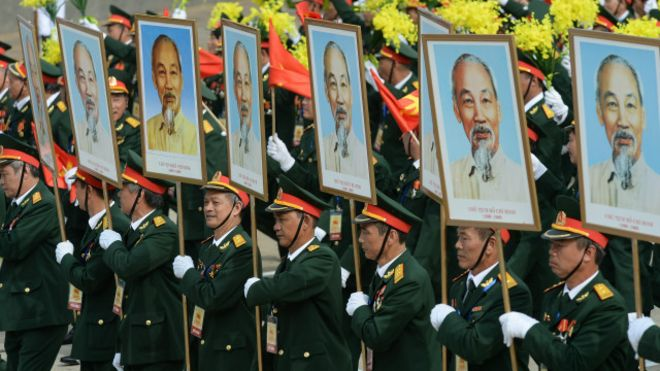 Duyệt binh kỷ niệm 70 năm ngày Độc lập, Hà Nội, Việt Nam