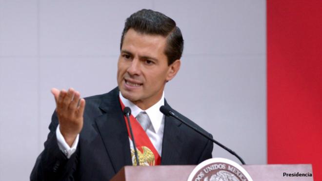 Presidente de México Enrique Peña Nieto. Foto: Presidencia de México