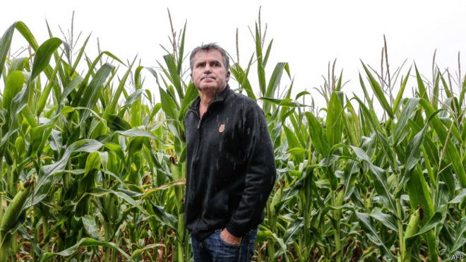 Paul Francoise, granjero francés