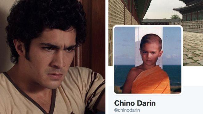 Chino Darín, actor de moda en Argentina