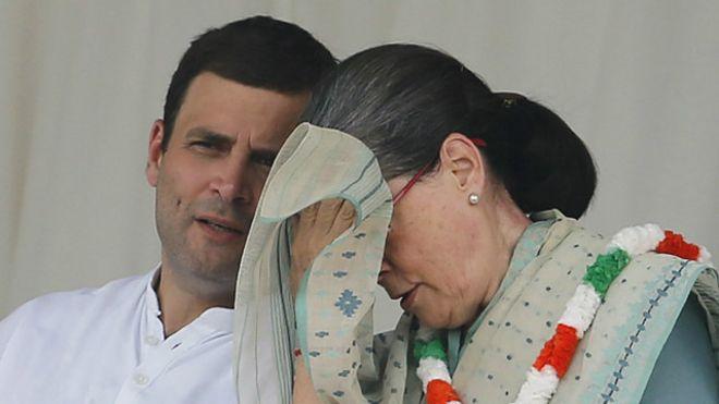 सोनिया, राहुल गांधी