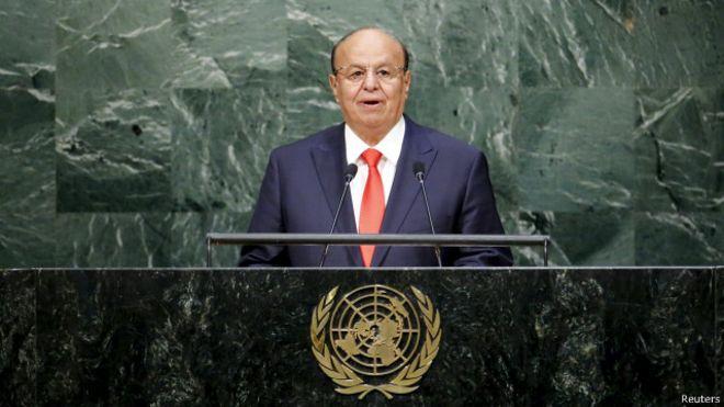 الرئيس هادي يتهم الحوثيين بمحاولة فرض ما وصفه بـ
