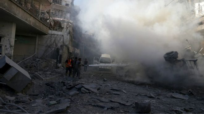 Quem luta contra quem na guerra da Síria