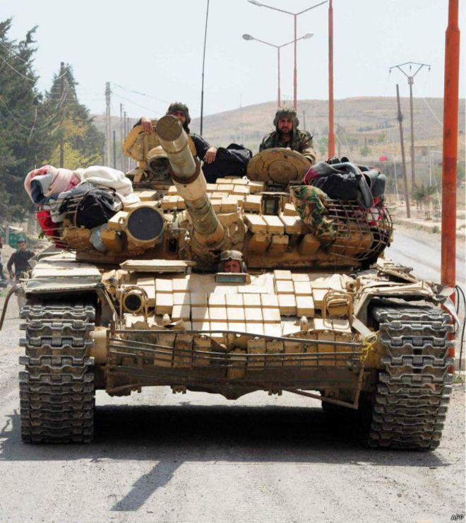 Т-72 в Сирии