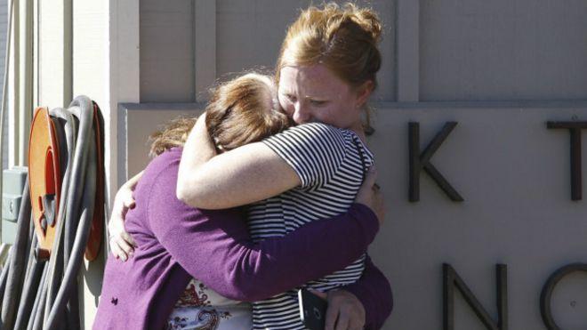 Testigos de la masacre de Oregon