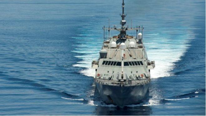 Tàu chiến Mỹ trên Biển Đông