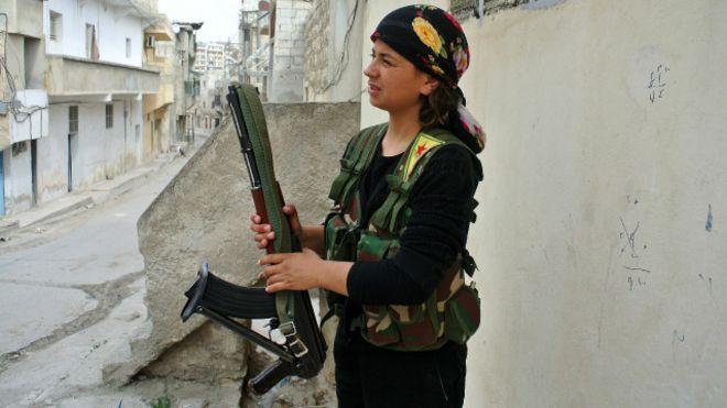 AS berikan amunisi pada musuh ISIS Suriah