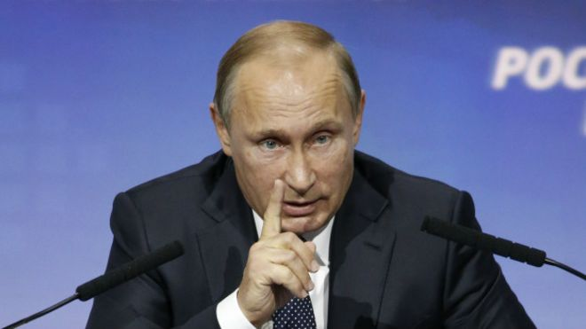Putin ABŞ-ı ittiham etdi..