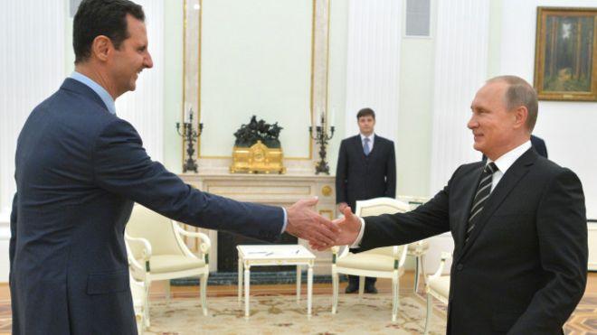 واشنطن تنتقد استقبال الرئيس #السوري في موسكو 151021222626_assad_640x360_ap_nocredit