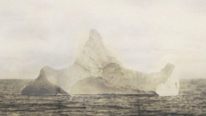 notiblog es este el iceberg que hundi al titanic