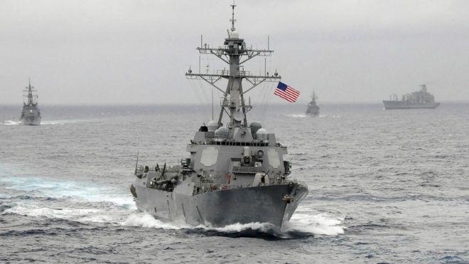 葡萄成熟時,一定再回來!:「美國海軍明年初擬再巡航南海島礁」