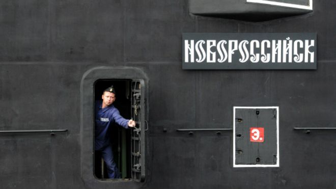Los submarinos rusos han sido divisados en zonas sensibles de la infraestructura de internet.