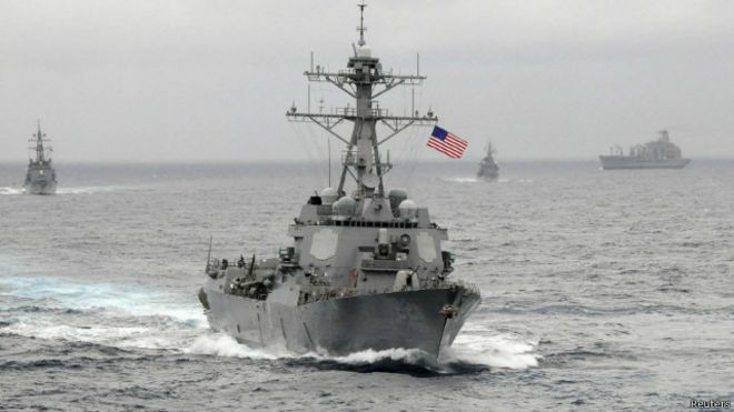 Tàu khu trục Mỹ USS Lassen