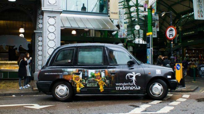 promosi lewat taksi