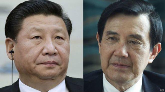 """习近平与马英九将以""""两岸领导人""""身份在新加坡进行历史性会面。"""