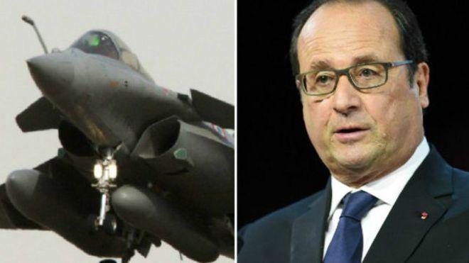 Após Atentados de Paris, França Ataca Estado Islâmico
